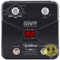 Pedaleira Guitarra Waldman Gv-1fx Guitar Voice Effect Top