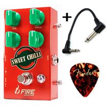 Fire Sweet Chilli - Pedal Overdrive Para Guitarra + Brindes