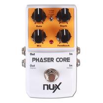 Pedal De Efeito Para Guitarra Phaser Core Nux Frete Grátis