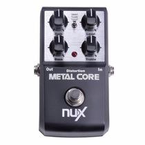 Pedal De Efeitos Guitarra Nux Metal Core