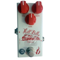 Pedal Para Guitarra De Drive Hill Billy Fire Custom Shop