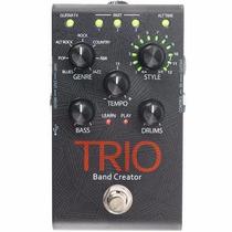 Pedal Digitech Trio Band Creator Com Fonte Original