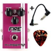 Fire Phaser Cacau Santos - Pedal De Efeitos P/ Guitarra