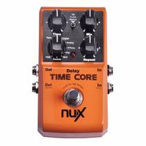 Pedal De Efeitos Guitarra Nux Time Core
