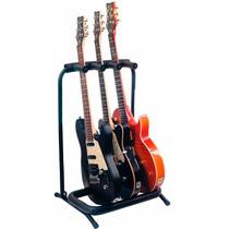 Estante Para 3 Instrumentos Guitarra Baixo Rockbag