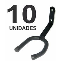 Suporte Ibox Fixo De Parede P Guitarra Violão Baixo 10 Peças