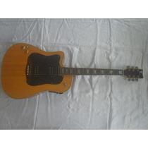 Guitarra E Violão Canhoto Eagle Dois Em Um Otimos Timbres