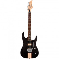 Guitarra Eagle Egt-61 Stbk Especial Preta Fosca - Refinado