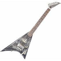 Guitarra Art Pro Flying V De Acrílico Randy Roads + Case !