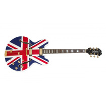 Guitarra Epiphone Semi Acústica Sheraton Union Jack Ltd.ed