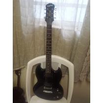 Gibson Epiphone Sg Preta Das Antigas...top