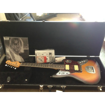 Fender Jaguar Kurt Cobain - Raridade - Case + Tags