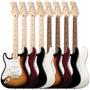 Fender Standard Stratocaster *canhoto* Novas Todas As Cores!