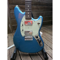 Fender Pawn Shop Mustang Special. Nova+bag+tags!