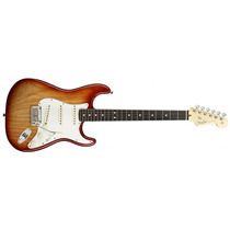 Guitarra Fender Am Standart Stratocaster Ash Rw Sienna Loja