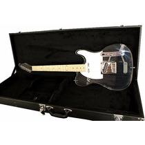 Guitarra Art Pro Telecaster Acrílica Pró + Case Frete Grátis