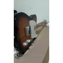 Guitarra Fender Telecaster Standard Mexicana Mex Sunburst