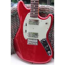 Fender Pawn Shop Mustang Special. Nova+bag+tags!