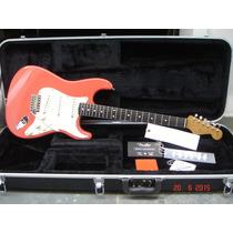 Guitarra Fender Usa St62 Reissue 2001 Fiesta Red +tags +case