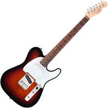 Guitarra Fender Telecaster Squier Affinity Rw Brown Sunburst