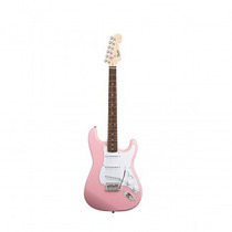 Guitarra By Fender Squier Genuine Bullet Strato Rosa Pink