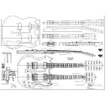 Planta Gibson Double Neck Sg Eds 1275 (luthier)