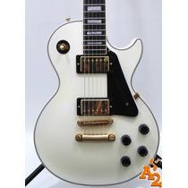 Guitarra Gibson Les Paul Custom Alpine White America - Loja
