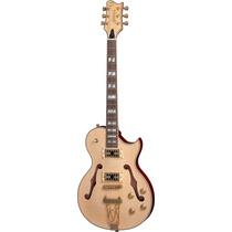 Frete Grátis - Golden Gsh570 Guitarra Semi Acústica Natural