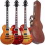 Guitarra Les Paul Tagima Tlp Legend C/ Hard Case + Cores