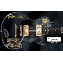 Guitarra Lp Art Pro Les Paul De Acrílico Importado = Gibson