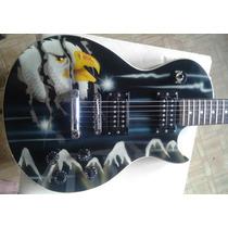 Guitarra Les Paulo Goden Usada (aceito Trocas)