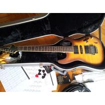 Guitarra Ibanez S670fm + Case Abs Solid Sound