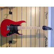 Guitarra Ibanez Micro Vermelha Escudo Preto - Usada