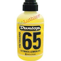 Óleo De Limão Para Escalas   Dunlop   F65