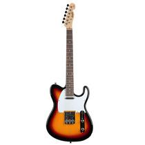 Guitarra Memphis By Tagima Telecaster Mg 52 Sunburst