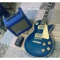 Guitarra Les Paul Tagima + Cubo E Pedal