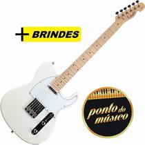 Guitarra Tagima Memphis Mg52 Telescaster - Branco Perola