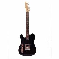 Guitarra Telecaster Gbspro Canhoto - Preto