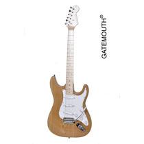 Guitarra Elétrica Modelo Stratocaster Corpo De Swamp Ash Gat
