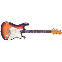 Guitarra Vintage Icon Stratocaster V6mr Sunburst - Gt0075