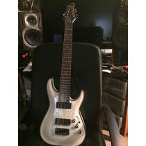 Guitarra Schecter Hellraiser 8 Cordas Emg Branca/gloss White