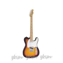 Guitarra Gbspro Telecaster-sunburst Frete Gratis+blindagem