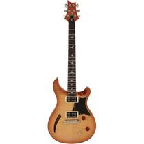 Guitarra Prs Se Custom Semi-hollow Vintage Natural Com Bag