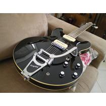 Guitarra Cort Source Bv Semiacústica Seymour Duncan Kluson!