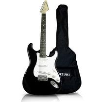 Guitarra Stratocaster Suzuki C/ Capa,correia E Cabo