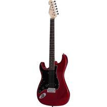 Guitarra Canhota 2 Humbuckers Vermelha G-102 Giannini