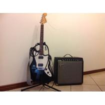 Guitarra Squier Jagmaster + Amp Fender Champion 40