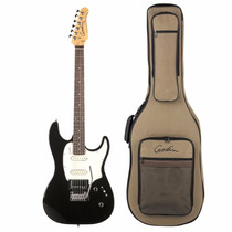 Guitarra Godin Session Hg/rn Black 035304 Com Bag