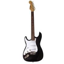 Guitarra Stratocaster Gbspro Canhoto - Preto