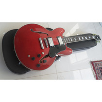 Guitarra Semi Acustica Luthier Modelo 335 Cherry Sem Case